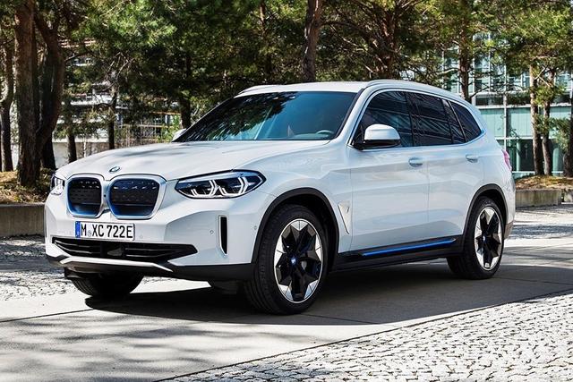 BMW iX3 bất ngờ rò rỉ trước ngày ra mắt - SUV tương lai nhiều người mong chờ - Ảnh 1.