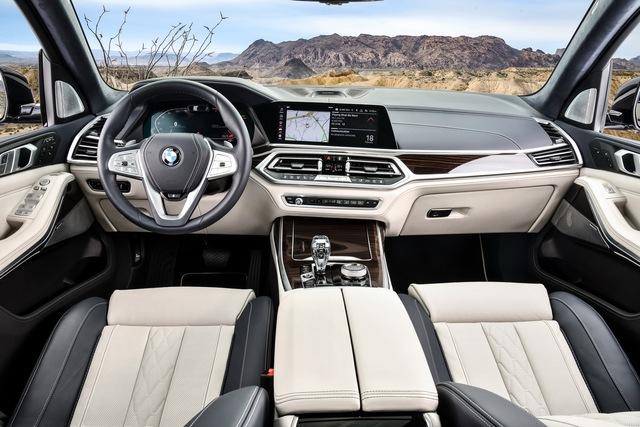 So kè BMW X7 vs Mercedes GLS cùng 3 mẫu SUV full-size hấp dẫn giới nhà giàu - Ảnh 9.
