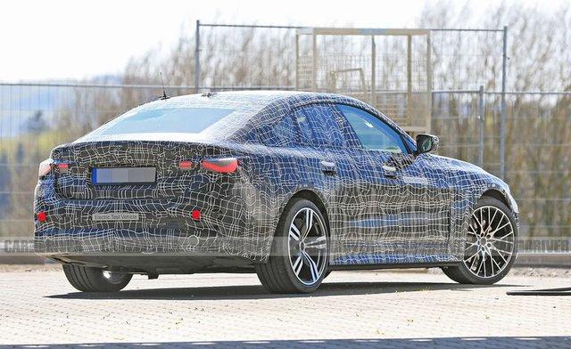 BMW i4 lộ diện: Chung nền tảng 3-Series, mạnh 530 mã lực - Ảnh 4.