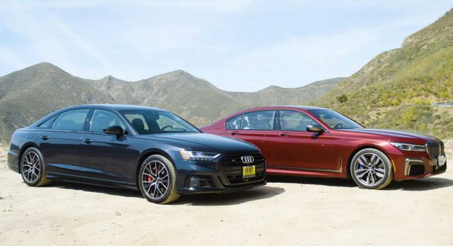 BMW 7-Series và Audi A8 sẽ cho nhau lối đi riêng - Ảnh 1.