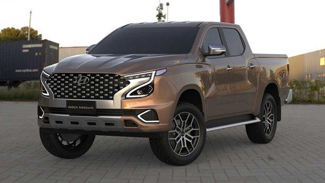 Xem trước Hyundai Tarlac: Xe bán tải Hàn Quốc tham vọng đối đầu Ford Ranger - Ảnh 1.