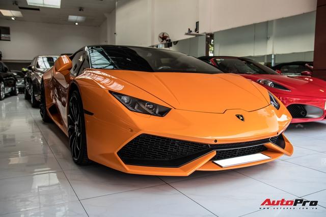 Lamborghini Huracan độ siêu độc từng gây xôn xao Bình Dương được chuyển ra TP. HCM giữa mùa dịch, chi tiết trên vô-lăng tiết lộ nguyên nhân - Ảnh 1.