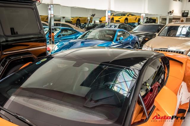 Lamborghini Huracan độ siêu độc từng gây xôn xao Bình Dương được chuyển ra TP. HCM giữa mùa dịch, chi tiết trên vô-lăng tiết lộ nguyên nhân - Ảnh 6.