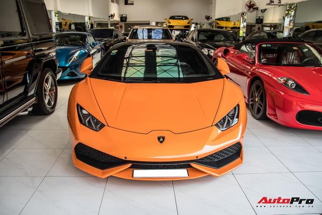 Lamborghini Huracan độ siêu độc từng gây xôn xao Bình Dương được chuyển ra TP. HCM giữa mùa dịch, chi tiết trên vô-lăng tiết lộ nguyên nhân - Ảnh 3.