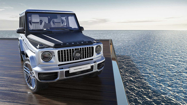 Mercedes-AMG G63 độ nội thất gỗ như siêu du thuyền - Cảm hứng mới cho đại gia Việt - Ảnh 1.