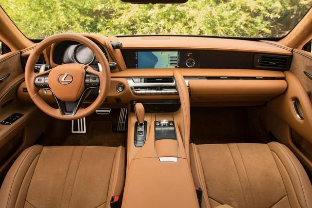 Lexus chuẩn bị nâng cấp LC Coupe nhằm đối đầu Mercedes S-Coupe - Ảnh 3.