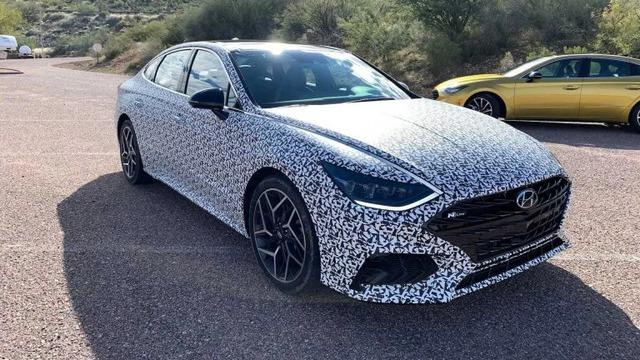 Hyundai Sonata, Elantra bản thể thao đồng loạt chốt ngày ra mắt  - Ảnh 1.