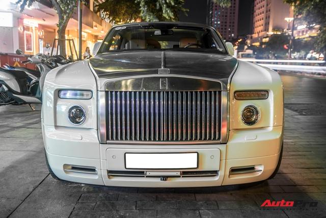 Hàng hiếm Rolls-Royce Phantom Drophead Coupe tái xuất: Logo phía sau là chi tiết đáng chú ý - Ảnh 9.
