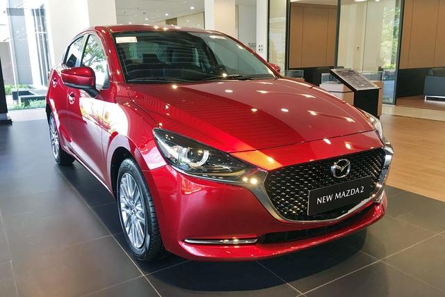 Mazda2 'dọn kho' giảm giá kỷ lục 55 triệu đồng, rẻ ngang Toyota Vios - Ảnh 3.