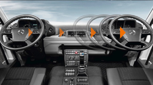Mercedes-Benz chất chơi nhất thế giới: Đổi từ tay lái nghịch sang thuận chỉ trong 30 giây