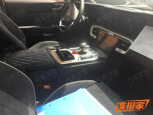 Rolls-Royce Trung Quốc Hongqi E115 lộ mặt, khoe tản nhiệt lớn hơn cả BMW - Ảnh 4.