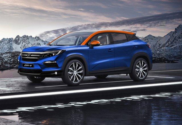 Xem trước Honda ZR-V - Đối trọng đồn đoán mới của Hyundai Kona và Kia Seltos - Ảnh 1.