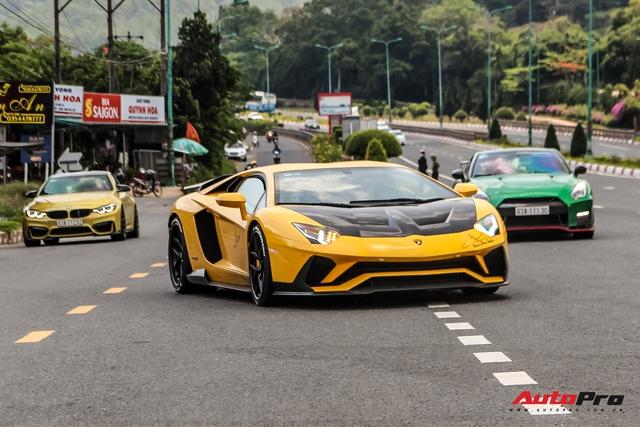 Đang chờ McLaren Senna nhưng đại gia Hoàng Kim Khánh vẫn chăm Lamborghini Aventador S, độ thêm chi tiết mới lạ - Ảnh 2.