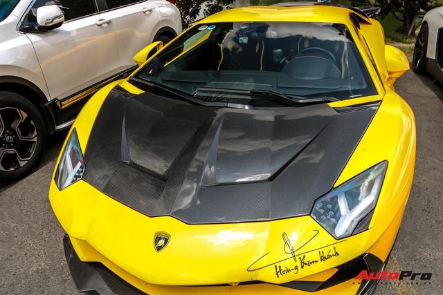 Đang chờ McLaren Senna nhưng đại gia Hoàng Kim Khánh vẫn chăm Lamborghini Aventador S, độ thêm chi tiết mới lạ - Ảnh 4.
