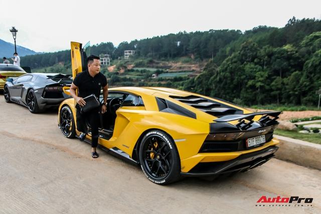 Đang chờ McLaren Senna nhưng đại gia Hoàng Kim Khánh vẫn chăm Lamborghini Aventador S, độ thêm chi tiết mới lạ - Ảnh 1.