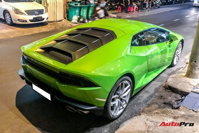 Không tham gia vào hành trình siêu xe, Phan Thành lặng lẽ cầm lái Lamborghini Huracan dạo phố đêm cuối tuần - Ảnh 6.