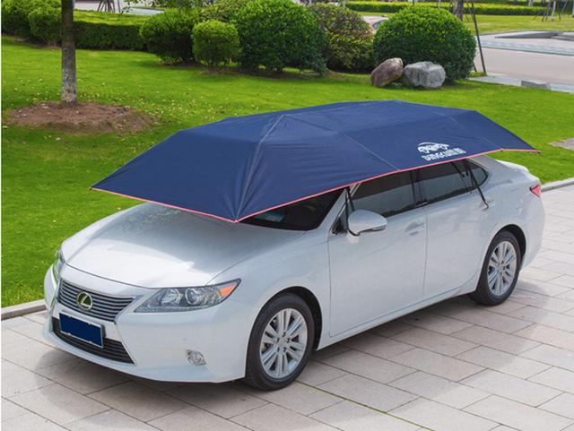 Trời nắng nóng, làm sao để giảm nhiệt cho ô tô khi đỗ ngoài trời? - Ảnh 2.