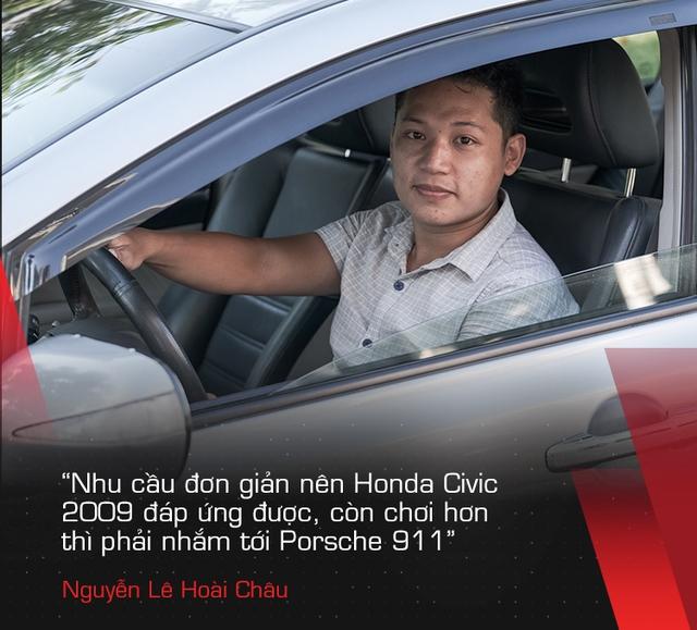 Dùng Honda Civic nhập 10 năm, người dùng chia sẻ: Lương tháng 8 triệu đồng là đủ nuôi xe, mơ ước lên đời Porsche 911 - Ảnh 3.