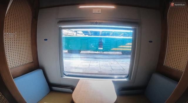 Cận cảnh toa tàu lửa có quầy bar và ghế massage thư giãn đầu tiên ở Việt Nam sắp đón khách - Ảnh 6.