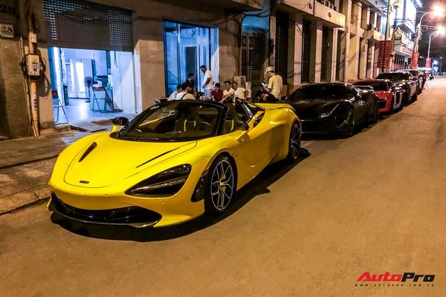 Cường Đô La cùng dàn siêu xe hơn 100 tỷ của giới đại gia Sài Gòn hội ngộ lúc nửa đêm - Ảnh 11.