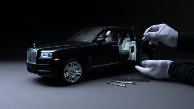 Rolls-Royce chế tạo xe mô hình Cullinan 'hoàn hảo' chiều lòng khách hàng