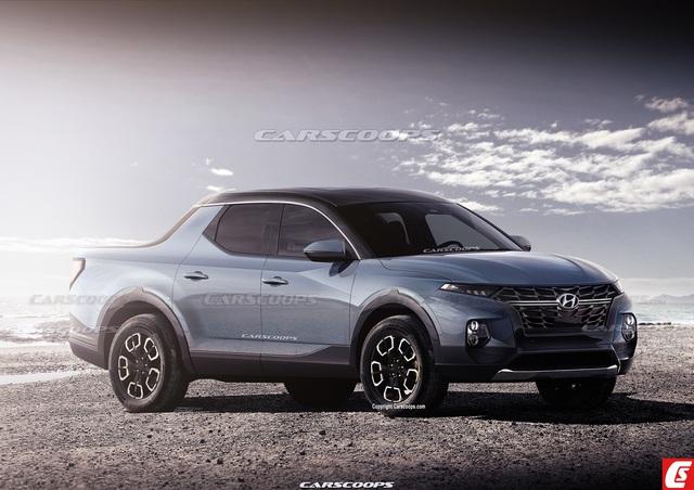 Những điều cần biết về Hyundai Santa Cruz - Bán tải lai Santa Fe với Palisade, đối trọng của Ford Ranger - Ảnh 1.