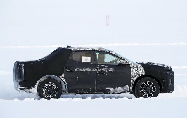Những điều cần biết về Hyundai Santa Cruz - Bán tải lai Santa Fe với Palisade, đối trọng của Ford Ranger - Ảnh 5.