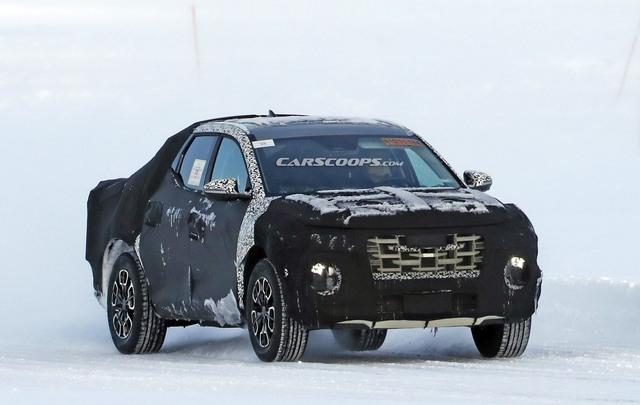 Những điều cần biết về Hyundai Santa Cruz - Bán tải lai Santa Fe với Palisade, đối trọng của Ford Ranger - Ảnh 4.
