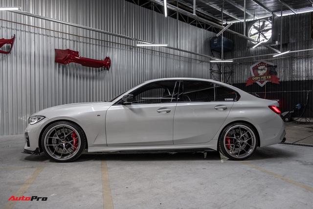 Chủ xe chi 1 tỷ đồng nâng cấp BMW 330i M Sport tại Sài Gòn: Riêng bộ mâm và phanh giá gần 500 triệu - Ảnh 3.