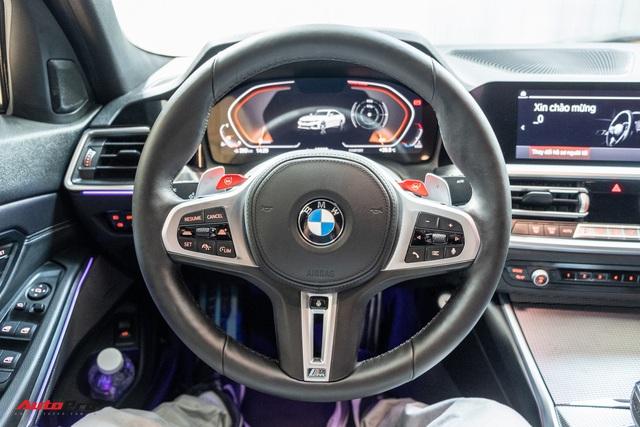 Chủ xe chi 1 tỷ đồng nâng cấp BMW 330i M Sport tại Sài Gòn: Riêng bộ mâm và phanh giá gần 500 triệu - Ảnh 7.