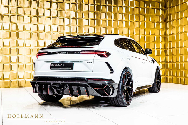 Lamborghini Urus độ Mansory yêu cầu mức giá siêu khủng - Ảnh 1.