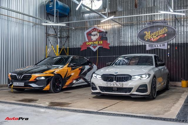 Chủ xe chi 1 tỷ đồng nâng cấp BMW 330i M Sport tại Sài Gòn: Riêng bộ mâm và phanh giá gần 500 triệu - Ảnh 10.