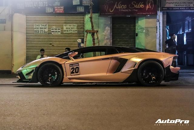 Lamborghini Aventador độ Liberty Walk hàng độc lăn bánh tại Sài Gòn sau gần nửa năm trốn dịch tại Đà Lạt - Ảnh 3.