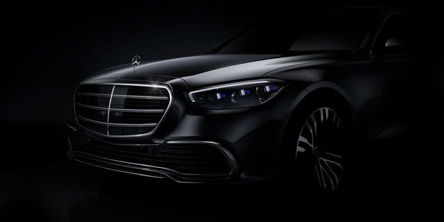 Mercedes-Benz S-Class 2021 lần đầu lộ diện: Hứa hẹn trở thành kỳ quan công nghệ mới - Ảnh 1.