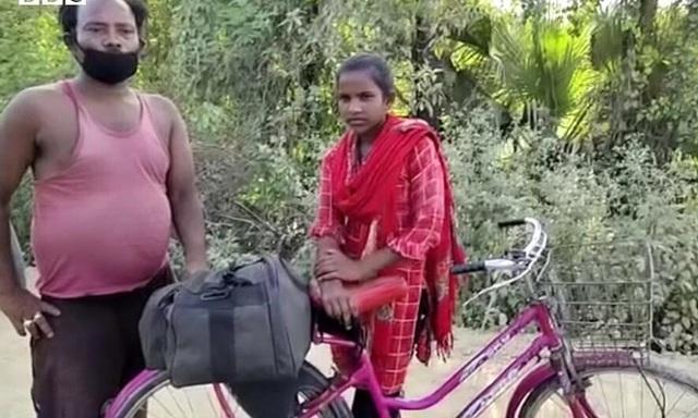 Bức ảnh bé gái 15 tuổi đạp xe 1.200 km đưa bố về quê nhà gây bão cộng đồng mạng, sự thật phía sau càng khiến mọi người vừa thương vừa nể phục - Ảnh 2.