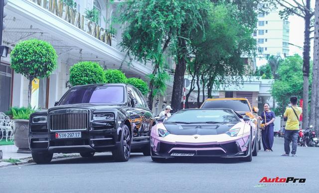 Dàn siêu xe, siêu sang trị giá gần 100 tỷ đồng tụ họp gây náo loạn Sài Gòn - Ảnh 9.