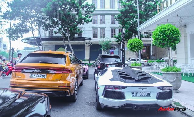 Dàn siêu xe, siêu sang trị giá gần 100 tỷ đồng tụ họp gây náo loạn Sài Gòn - Ảnh 8.
