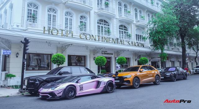 Dàn siêu xe, siêu sang trị giá gần 100 tỷ đồng tụ họp gây náo loạn Sài Gòn - Ảnh 1.