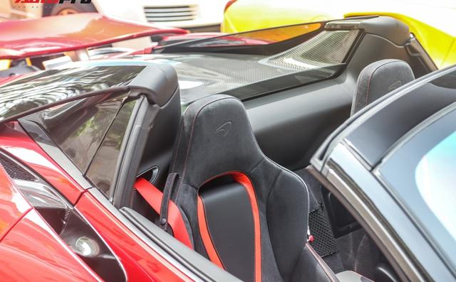 Cận cảnh siêu phẩm McLaren 720S Spider màu đỏ độc nhất Việt Nam  - Ảnh 8.