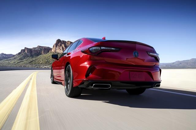 Ra mắt Acura TLX 2021 - Honda Accord hạng sang đấu Mercedes-Benz C-Class  - Ảnh 3.