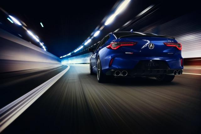 Ra mắt Acura TLX 2021 - Honda Accord hạng sang đấu Mercedes-Benz C-Class  - Ảnh 11.