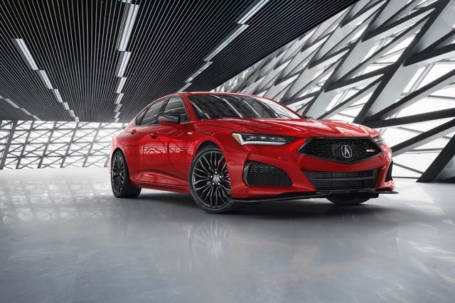 Ra mắt Acura TLX 2021 - Honda Accord hạng sang đấu Mercedes-Benz C-Class  - Ảnh 10.