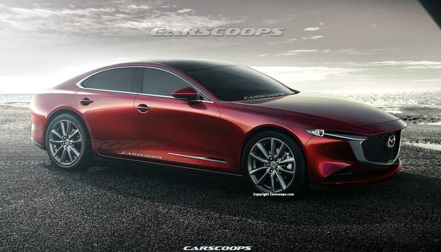Thổn thức với Mazda6 thế hệ mới: Đẹp như xe sang, động cơ 6 xy-lanh, dẫn động cầu sau tham vọng ngang hàng BMW và Mercedes - Ảnh 1.