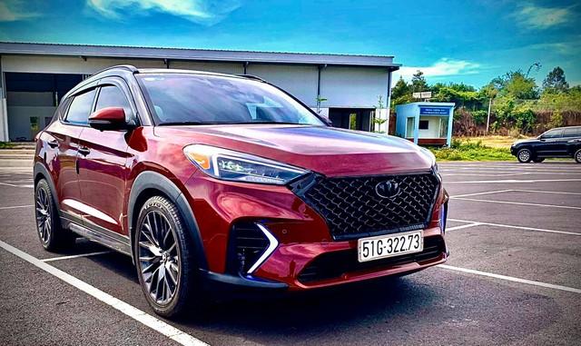 Hyundai Tucson độ gói hiệu năng cao N-Line giá hơn 80 triệu đồng tại Việt Nam - Ảnh 1.