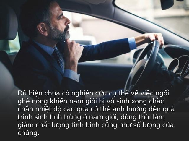 Cảnh báo: Ngồi ghế ô tô quá nóng trong ngày hè có thể khiến chị em bị viêm nhiễm vùng kín, đàn ông khó có con - Ảnh 3.