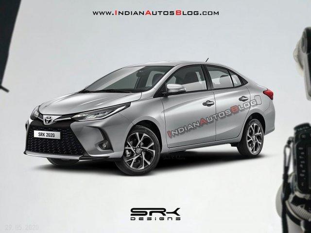 Xem trước Toyota Vios 2021: Đẹp như Toyota Corolla Altis, dự kiến ra mắt cuối năm nay - Ảnh 1.