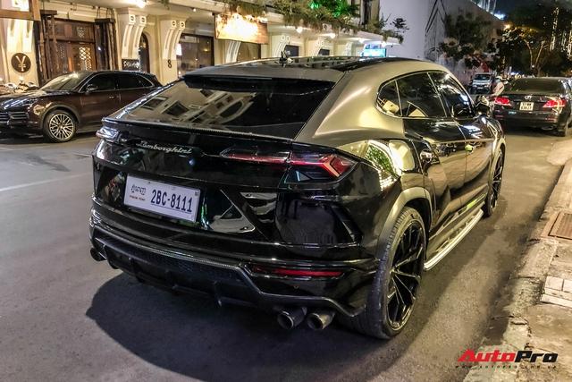 Lamborghini Urus biển số lạ xuất hiện tại Sài Gòn với một chi tiết khác biệt với những chiếc còn lại tại Việt Nam - Ảnh 10.