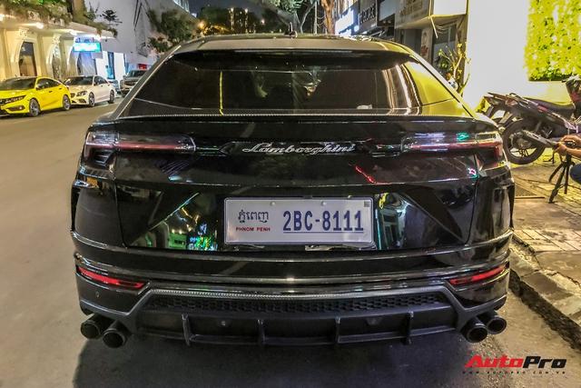 Lamborghini Urus biển số lạ xuất hiện tại Sài Gòn với một chi tiết khác biệt với những chiếc còn lại tại Việt Nam - Ảnh 2.