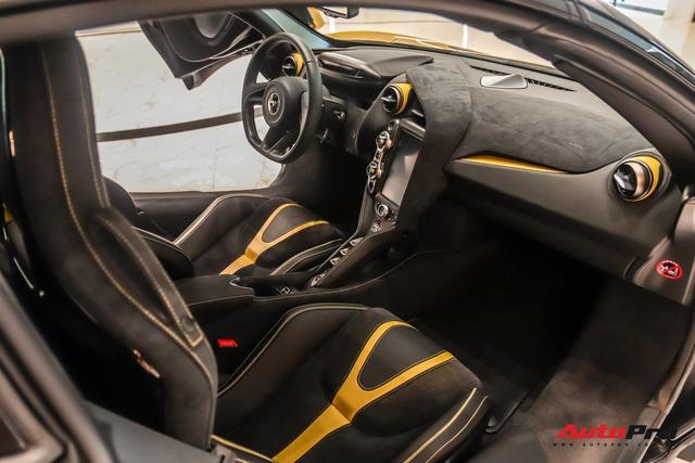 Diện kiến McLaren 720S Spider thứ 4 Việt Nam vừa về showroom khét tiếng sắp khai trương tại Sài Gòn: Một số chi tiết độc nhất vô nhị - Ảnh 7.