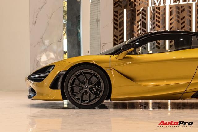 Diện kiến McLaren 720S Spider thứ 4 Việt Nam vừa về showroom khét tiếng sắp khai trương tại Sài Gòn: Một số chi tiết độc nhất vô nhị - Ảnh 6.